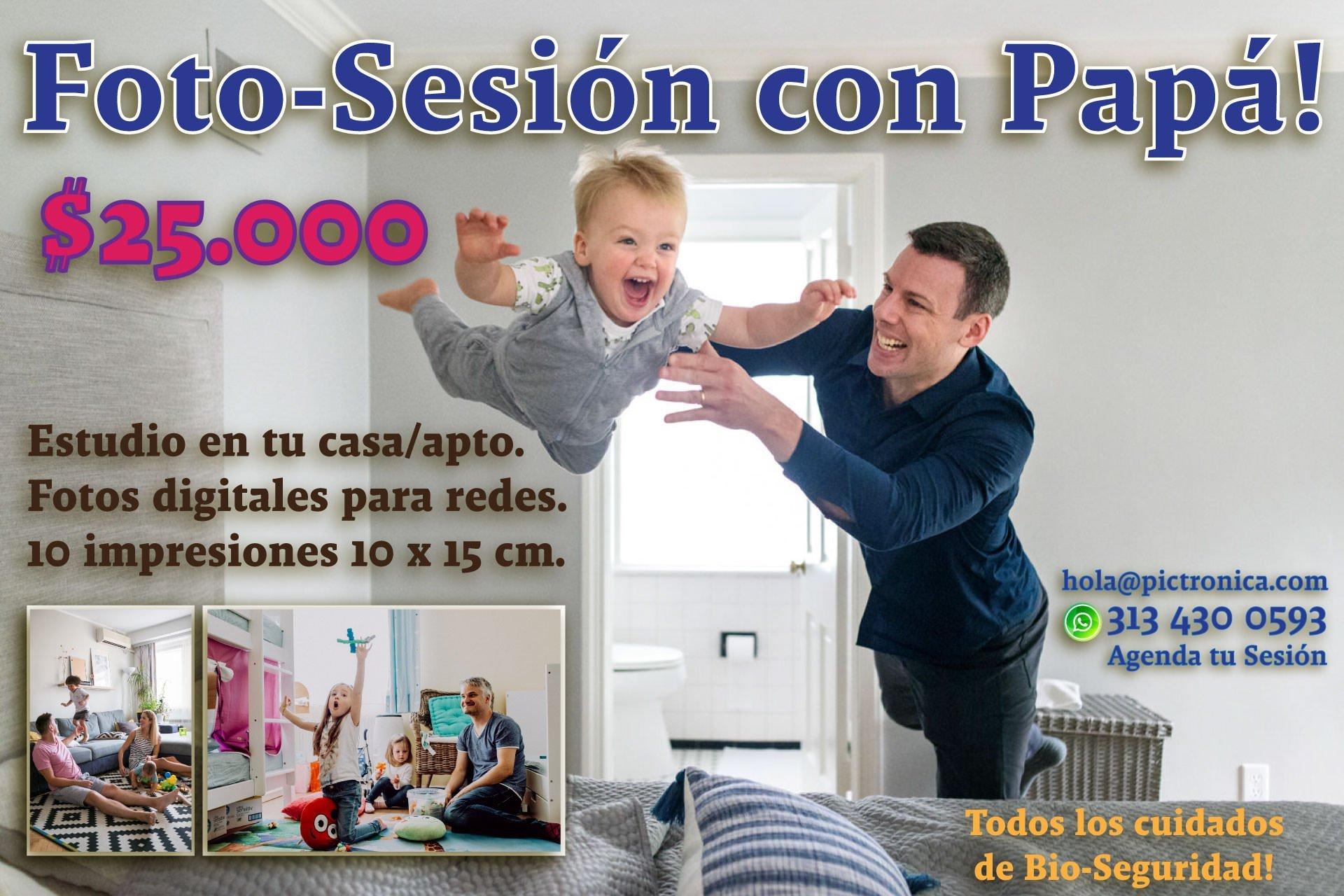 Foto Sesiones con Papá